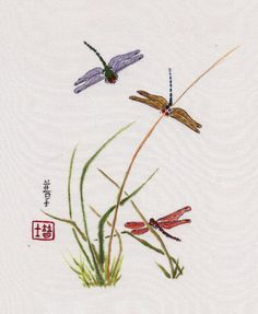 """""""3 Dragonflies"""" 