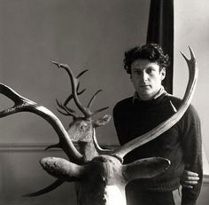 Lucien Freud by Cecil Beaton.