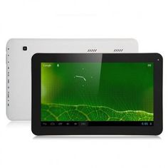 Freelander PD500C Tablet PC use 10.1 inch screen, with ATM7021 dual core 1.2GHz professor, has 512MB RAM, 8GB ROM, 0.3MP front and 2MP back dual camera, and installed Android 4.1 OS.
