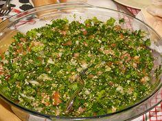 El tabule es una receta árabe vegana, está deliciosa y es muy aromática. ¡Pruébala!