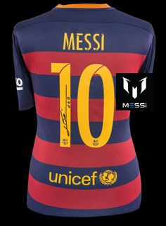 brand new 33590 e56b9 19 Best Lionel Messi Autographed Colletibles images in 2016 ...