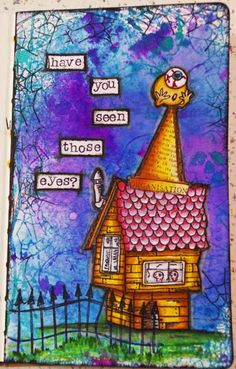 Set 2 8 Cards Devoted Dylusions By Dyan Reaveley Postcards