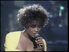 Whitney Houston Saving All My Love For You Live. Love. Love. Love her voice. #RIP