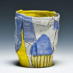 "Crimson Laurel Gallery's cup show, Source Material: Kari Smith ""Grow"" Cup"