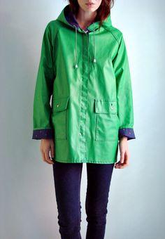 vintage reversible raincoats
