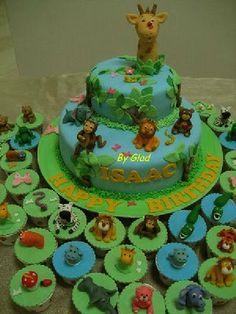 Decoración de selva para cumpleaños - Imagui