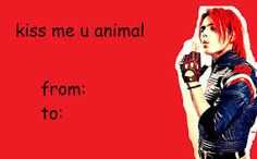 Image result for my chemical romance tumblr valentines