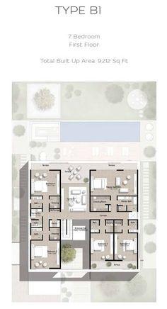 Apartment Floor Plans, House Floor Plans, Floor Layout, Sims House, Architecture Plan, Bungalow, Villa, House Design, Flooring