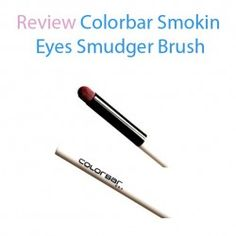 http://www.pintalabios.info/en/reviews/view/en/21 New #review on pintalabios.info Review Colorbar Smokin Eyes Smudger Review Colorbar Smokin Eyes Smudger Brush  The Colorbar smudger has beautiful red bristles. The bristles are soft and not harsh on skin. It works really smooth over smudging eye shadows or liners. The smudger brush has a pointed domed shape which is stiff and as I mentioned not harsh at all. The bristles are dense enough to smudge an eye...                  Register on…