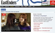 """Eastenders episode - """"Naff off Back to Psychicland"""""""