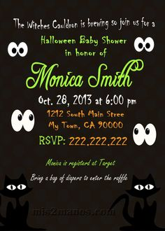 Pin by Becca Mills on Halloween Baby shower Pinterest