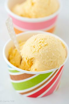 Fresh Apricot Ice Cream 1 1/2 pounds fresh apricots, sliced in half, pits removed 3/4 cup water 1/2 cup raw honey 1 1/2 cups fresh coconut milk 1 teaspoon almond extract 1 teaspoon freshly squeezed lemon juice