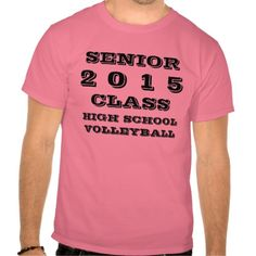 Class of 2015 Tee Shirt by Janz Volleyball