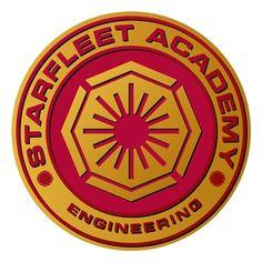 Star Trek Wall Graphics by WALLS 360: Starfleet Academy Badge III