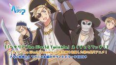 El Anime Hetalia The World Twinkle tendrá una nueva OVA el 24 de Febrero del 2016.