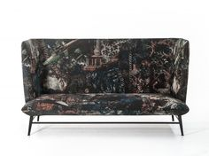 Divano «Shelter» di Diesel Living with Moroso.