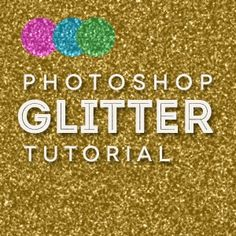 Creating a glitter texture in Photoshop