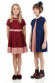 Fendi Kids Fall/Winter 2014-2015: playful dresses