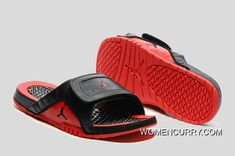 462e7108b17c  Bred  Jordan Hydro 12 Slide Sandals Black Red Top Deals. Cheap Jordan  ShoesJordan ...