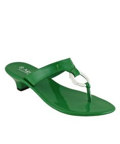 Another great find on #zulily! Green Juicy Sandal by Agape #zulilyfinds
