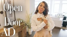 Kerry Washington takes us on a tour of her beautiful New York City apartment, designed by RH, Restoration Hardware. From the unobstructed view of the Hudson . Washington Houses, Kerry Washington, Latest Aso Ebi Styles, New York City Apartment, Manolo Blahnik Shoes, Buying A New Home, Hudson River, Crystal Collection, Celebrity Houses