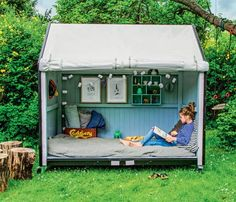 kids space in the yard