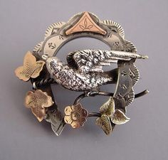 victorian ivy pin - Google Search