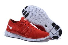 Nike Free Flyknit NSW 5.0 Red White