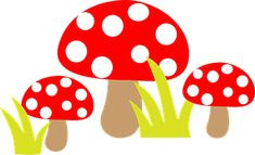 Free Image on Pixabay - Toadstool, Toadstools, Art, Cute Png Photo, Art Clipart, Art Club, Photo Illustration, Fungi, Free Pictures, High Quality Images, Female Art, Art Images