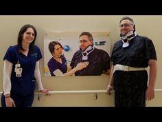 Alumni Brent loves the art in our new #hospital. #AskForMary #GrandRapids