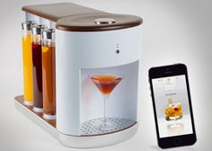 Somabar Robotic Bartender Mixes The Perfect Cocktail - SomabarAllows you to select and mix your perfect cocktail using a companion application and allows you to fill it up with your favourite ingredients to create that perfect cocktail simply by itself. | Geeky Gadgets
