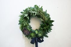 10. A beautiful Christmas wreath for your door.