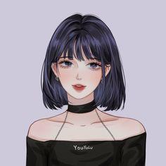 Cartoon Girl Drawing, Girl Cartoon, Cartoon Art, Girls In Love, Cute Girls, Cool Girl, Pretty Girls, Dark Anime, Sailor Saturn