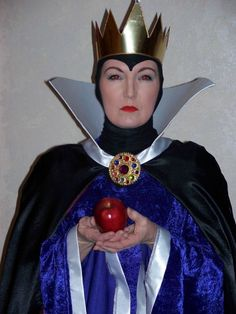 I actually made these costumes in 2007. The idea came from my daughter, who teased me with the title of Evil Queen. My husband and I wore these to a costume party that year and on Halloween to give...