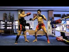 The Secrets to the Perfect Muay Thai Kick: Demonstrated by a Lumpinee Champion - YouTube
