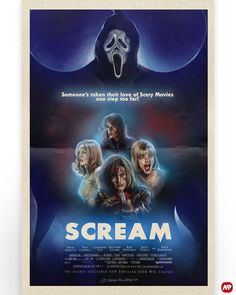 """Scream"" by Deadite Corpse @deaditecorpse Best Movie Posters, Horror Movie Posters, Horror Movies, Ghostface Scream, Movie Synopsis, Jean Luc Godard, Star Wars, Alternative Movie Posters, Scary Movies"