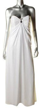 Laundry by Shelli Segal Shimmer Wedding Summer Gown Dress