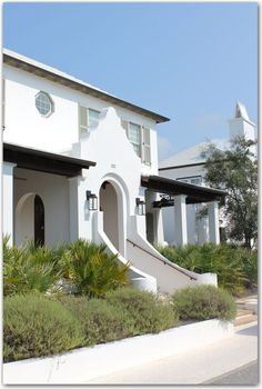 Alys Beach - modern Dutch colonial revival with a deco flair...love this style, This was so Beautiful Babe. Thanks for Sharing with me on our ride on Saturday.