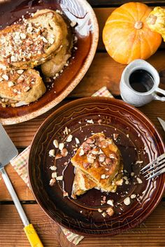 A comforting and deluxe version of a brunch favorite, this Pumpkin Cream Cheese-Stuffed French Toast is sure to please!