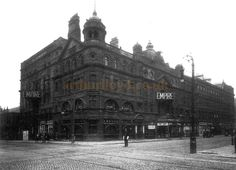 The Glasgow Empire Theatre, designed by Frank Matcham, at corner of West Nile Street and Sauchiehall Street, Glasgow, photographed in the - Courtesy Graeme Smith. ian powrie and band played here Paisley Scotland, Cinema Theatre, Glasgow Scotland, Best Cities, Past, Empire, Louvre, Dancing, Street