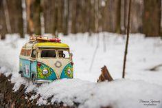 Базик в зимнем лесу