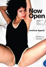 Go see the other American Apparel ads in this post. According to American Apparel, *women are just body parts, not human beings (*hint, hint: this is the definition of objectification). Do you need another reason to boycott this sexist company? Vintage Advertisements, Vintage Ads, Retro Ads, American Apparel Ad, Amsterdam, Culture Jamming, Plakat Design, Sexy Girl, Male Poses
