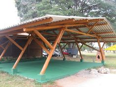 How Does Pergola Work Refferal: 1288499976 Bamboo Structure, Timber Structure, Shade Structure, Pergola Diy, Pergola Plans, Cheap Pergola, Tent Design, Roof Design, Bamboo Roof