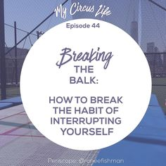 The balk is when you start to do a trick and you stop yourself before you complete it. This happens when your head gets in the way of what your body knows how to do. It may start as inadvertent but if we don't take steps to stop it it can become a habit.  #truthbomb: it's harder to break a habit than to make a habit. Trust me ... I know a few things about creating and breaking habits.   So in a big a-ha moment this morning I realized that I've been balking in my sacred work. I pull back just…