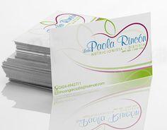 "Check out new work on my @Behance portfolio: ""Tarjeta de Presentación Nutricionista Paola Rincon"" http://on.be.net/1McvKYk"