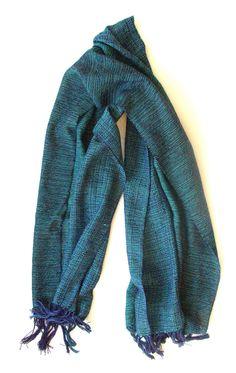 Couplet: handwoven cotton scarf