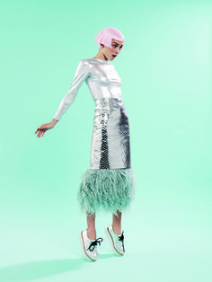 """Sea Punk'd!"", June 16 issue. Styled by Meg Gray and shot by Pierre Toussaint."