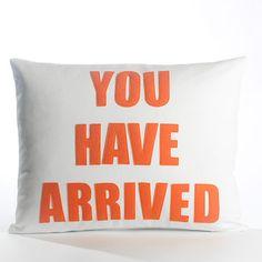 Alexandra Ferguson Alexandra Ferguson Zen Master You Have Arrived Pillow