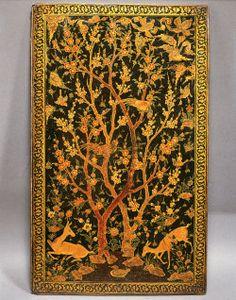 Book Covers   The Aga Khan Museum: Arts of the Book: Manuscripts, Folios, Bindings - Safavid, late 16th century CE