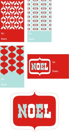 Free Printable Gift Tags http://www.papercrave.com/downloads/papercravetagsred.pdf